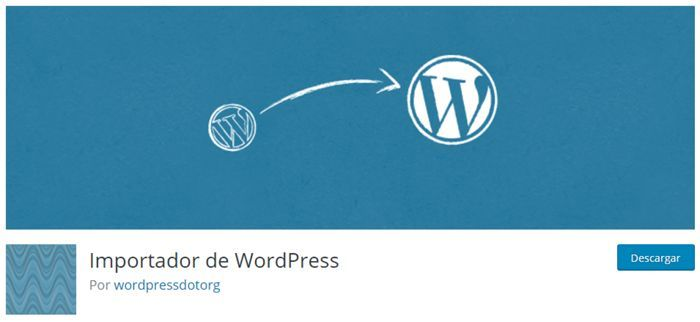 Importador de WordPress